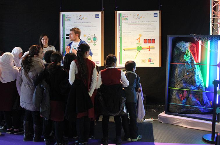 <colorise>&nbsp;EXPOSITION DES SCIENCES&nbsp;</colorise> Grande exposition de projets étudiants sur le thème de l'alimentation