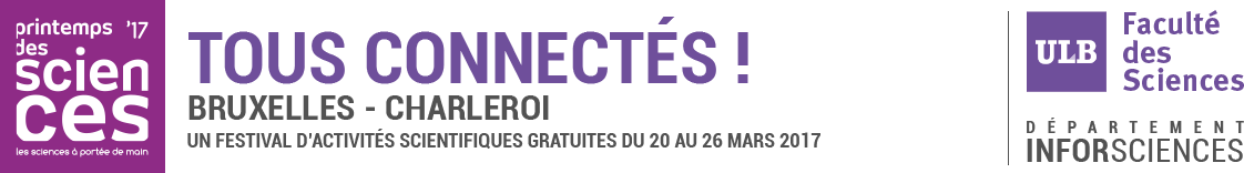 Printemps des Sciences 2018 - Région Bruxelloise