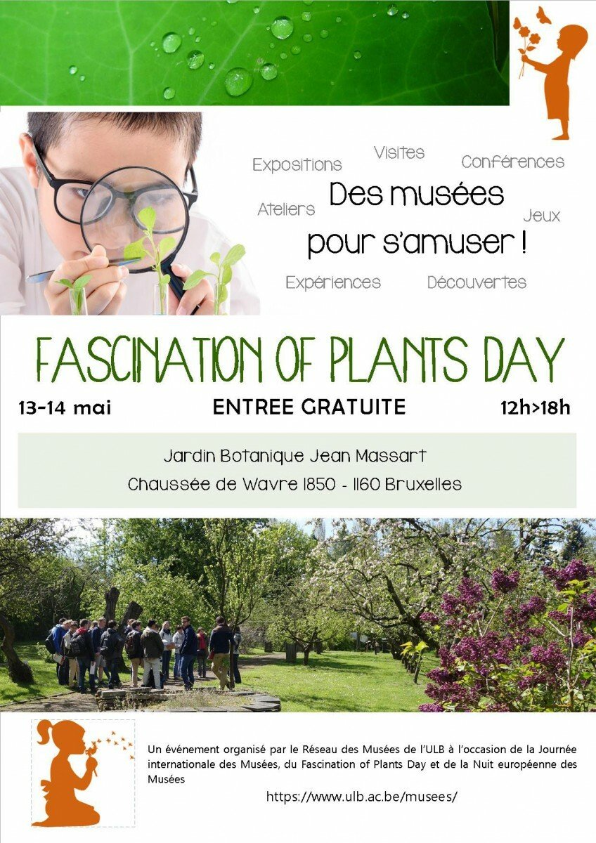 Evenement Fascination Of Plants Day